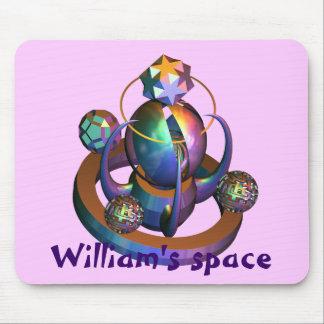 Meu espaço mouse pad