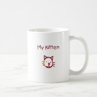 Meu gatinho caneca de café