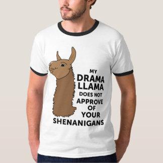 Meu lama do drama não aprova seus Shenanigans T-shirt