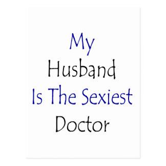 Meu marido é o doutor o mais sexy cartoes postais