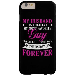Meu marido para sempre capa barely there para iPhone 6 plus