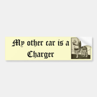 Meu outro carro é um carregador adesivo para carro