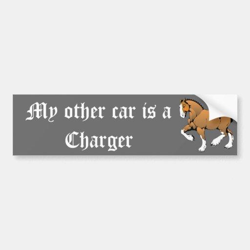 Meu outro carro é um carregador adesivo