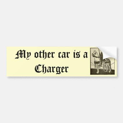 Meu outro carro é um carregador adesivos