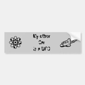 Meu outro carro é um UFO Adesivo Para Carro