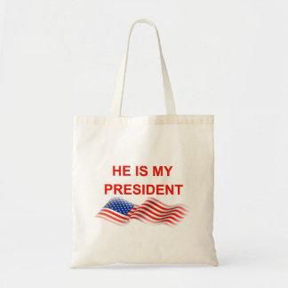 Meu presidente bolsa tote