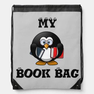 Meu saco de livro mochilas
