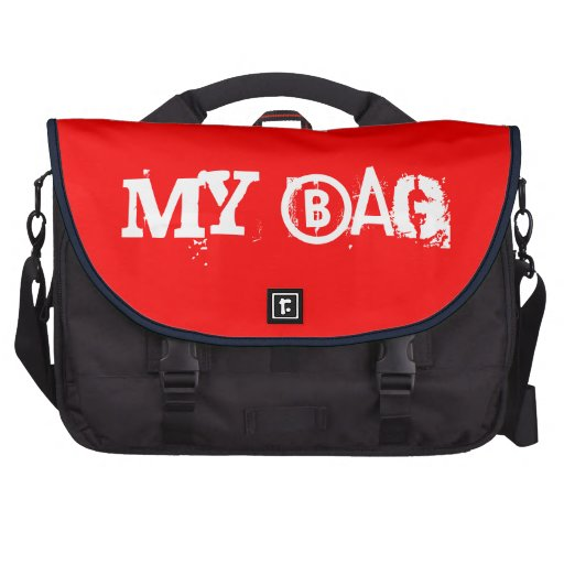 Meu saco do computador portátil do saco (vermelho) pasta para notebook
