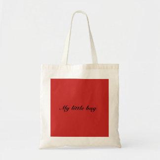 Meu saco pequeno bolsa tote