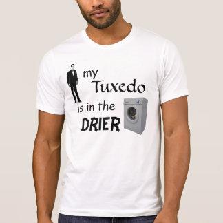 meu smoking está no secador camisetas