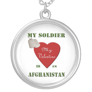 Meu soldado, minha colar dos namorados