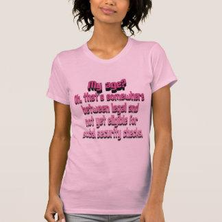 Meu t-shirt da idade