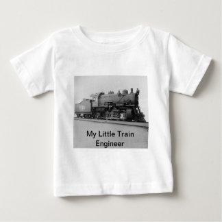 Meu trem pequeno do vapor do vintage do engenheiro tshirts