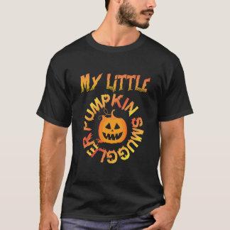 Meu tshirt pequeno do contrabandista da abóbora