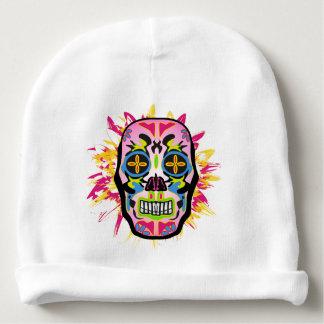 Mexican Skull Gorro Para Bebê