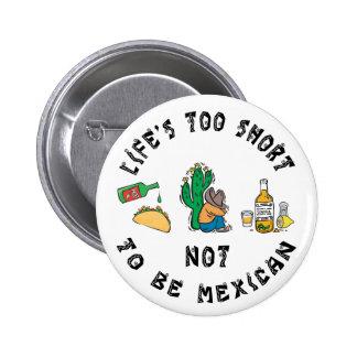 Mexicano muito engraçado botons