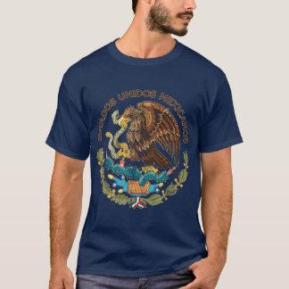 México - selo dos mexicanos dos unidos dos estados camiseta