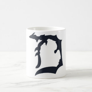 "Michigan Detroit ""D"" com a caneca superior da"