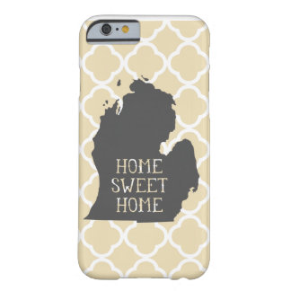 Michigan Home doce Home Capa Barely There Para iPhone 6
