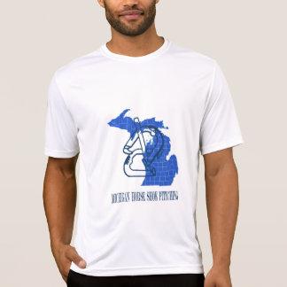 Micro-Fibra T das ferraduras de Michigan Tshirts