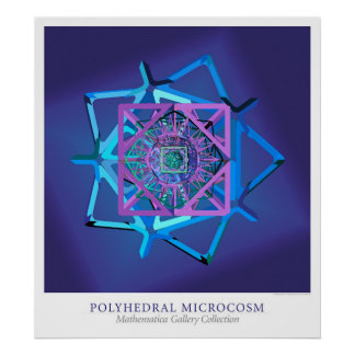 Microcosmo poliédrico pôster