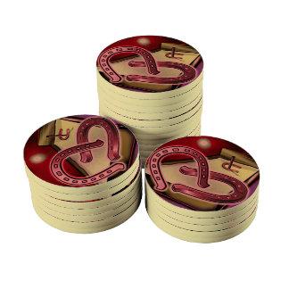 Microplaquetas de póquer cerâmicas do lançamento ficha de poquer