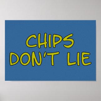 Microplaquetas engraçadas do slogan da paródia poster