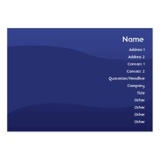 Midnightwave - carnudo cartão de visita grande