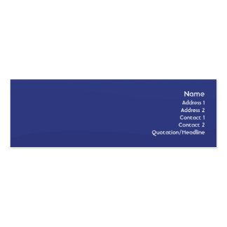Midnightwave - magro cartão de visita skinny