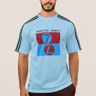Mil novencentos e noventa 7, número dobro sete camiseta