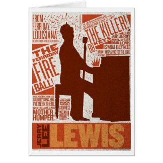 > Milhão tipos de Lewis do quarteto do dólar Cartão Comemorativo
