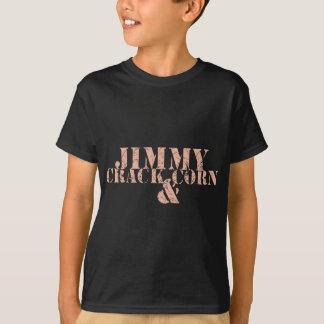 Milho da rachadura de Jimmy e ..... Camisetas