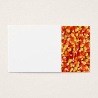 Milho de doces cartão de visitas