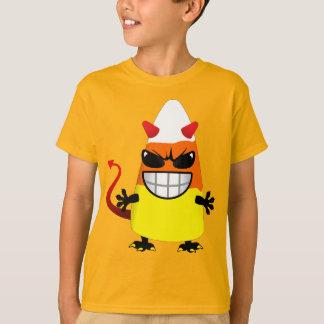 Milho de doces mau do Dia das Bruxas Camiseta