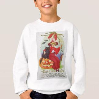 Milho do bastão da lanterna de Jack O do gato T-shirt
