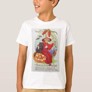 Milho do bastão da lanterna de Jack O do gato T-shirts
