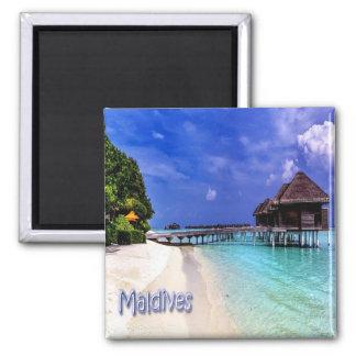 Milivolt - Maldives - Maldives Ímã Quadrado