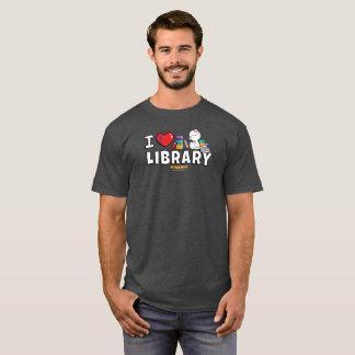 Mim a camisa dos homens da biblioteca do coração