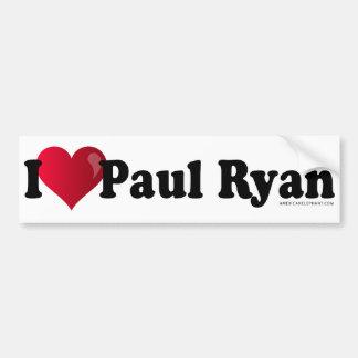 Mim autocolante no vidro traseiro de Paul Ryan do  Adesivo Para Carro