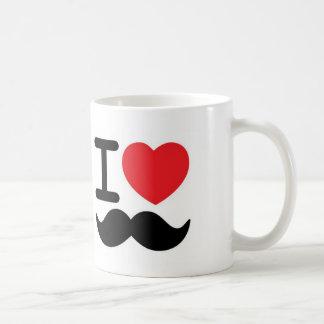 Mim bigodes <3 caneca de café
