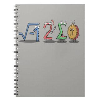 mim caderno da matemática de 8 pi da soma (eu comi
