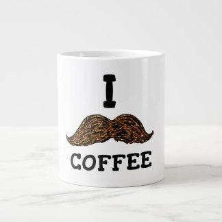 Mim café do bigode jumbo mug
