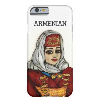 Mim capa de telefone com menina arménia