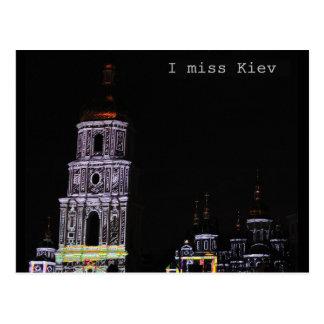 Mim cartão da senhorita Kiev