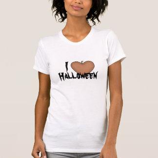 Mim coração (amor) o Dia das Bruxas Tshirts