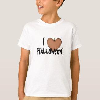 Mim coração (amor) o Dia das Bruxas Tshirt