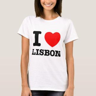 Mim coração Lisboa Camiseta