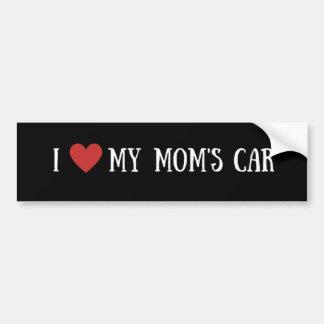 Mim coração meu carro da mãe adesivo para carro