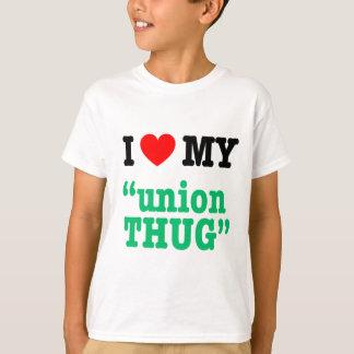 """Mim coração meu da """"vândalo união """" t-shirts"""