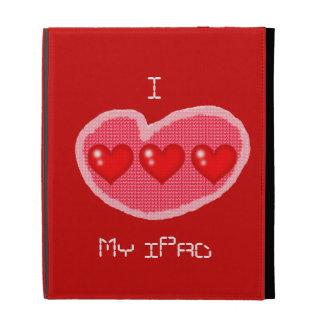 Mim coração meu iPad - caso do iPad de Caseable